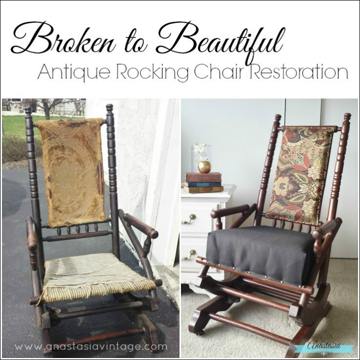 Antique Rocking Chair Restoration Contributor Post On