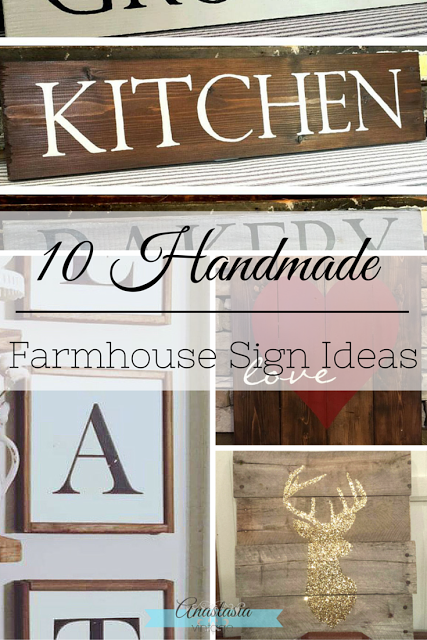handmade painted signs farmhouse rustic vintage