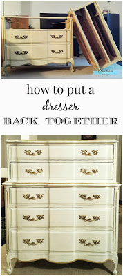 How to Put a Dresser Back Together