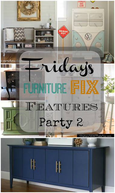 Friday's Furniture Fix Link Party