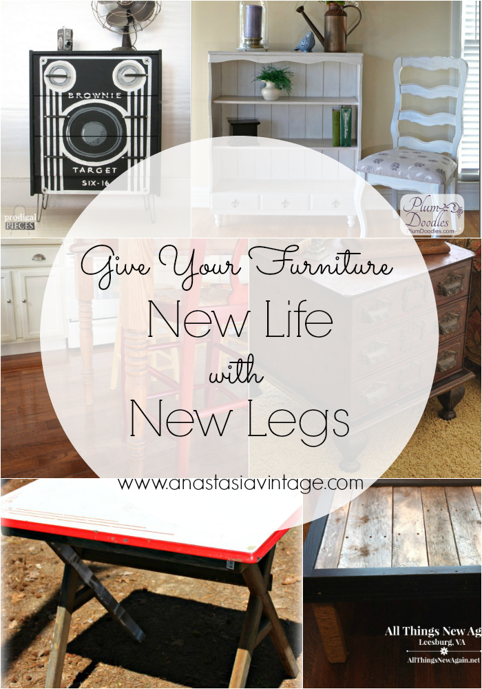 Give Your Furniture New Life with New Legs