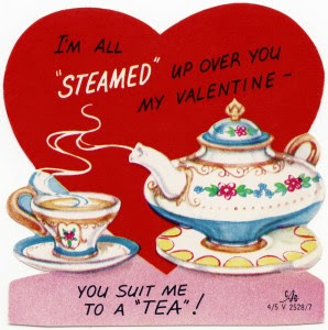 free vintage valentine's day card printable