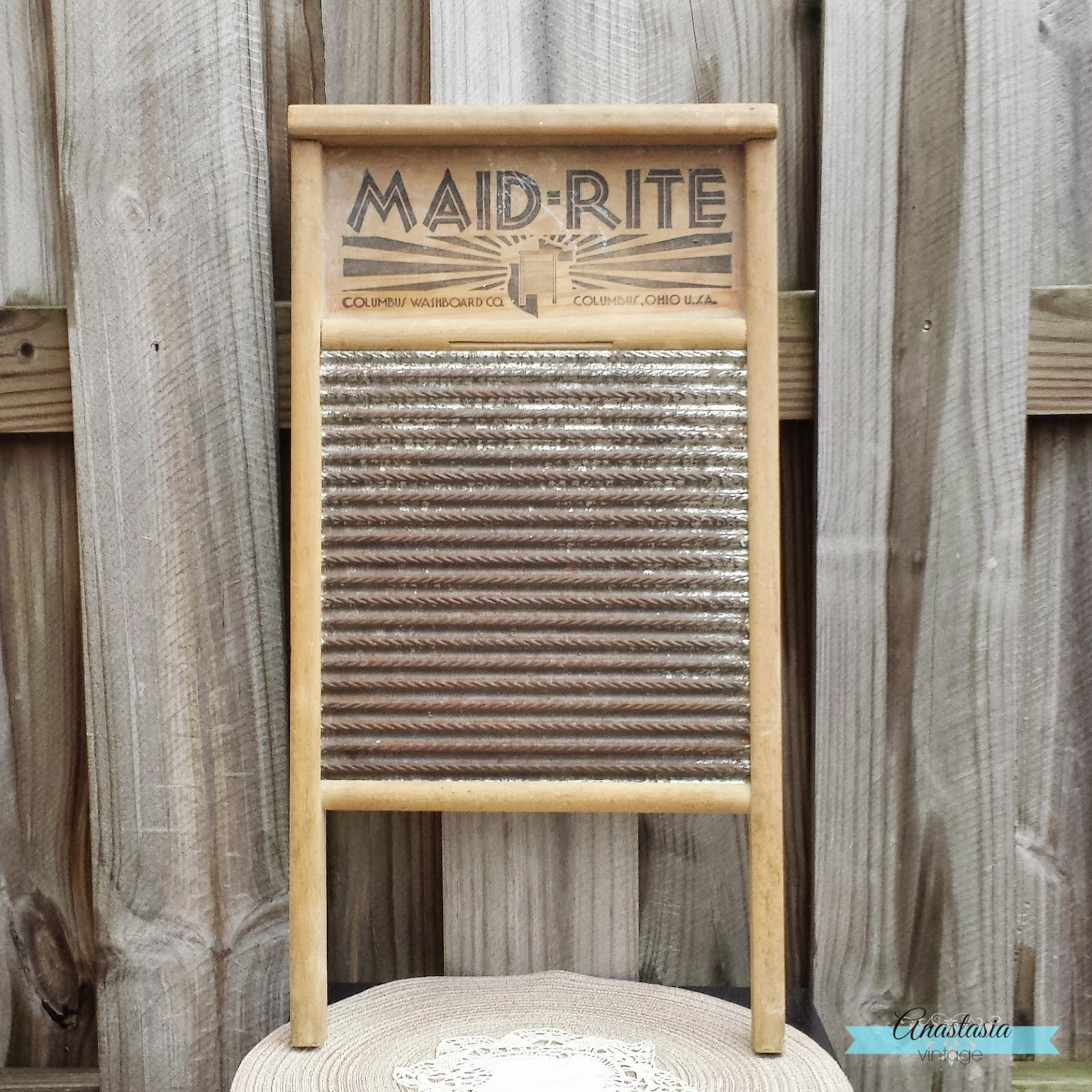 antique rustic washboard rusty