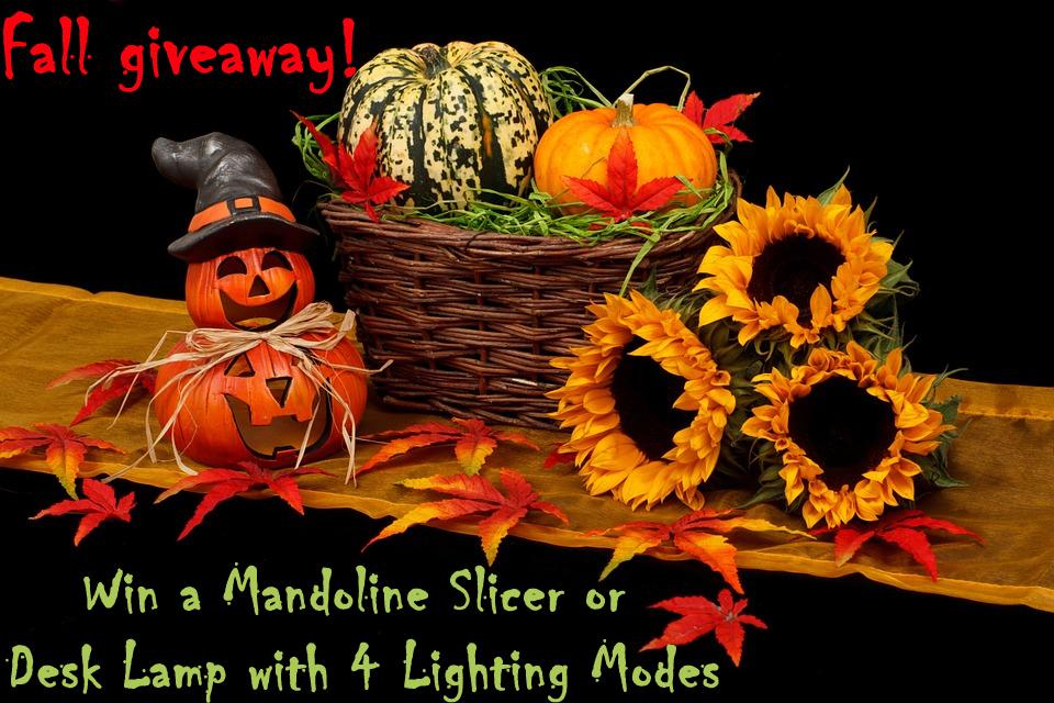 fall giveaway - mandoline slicer